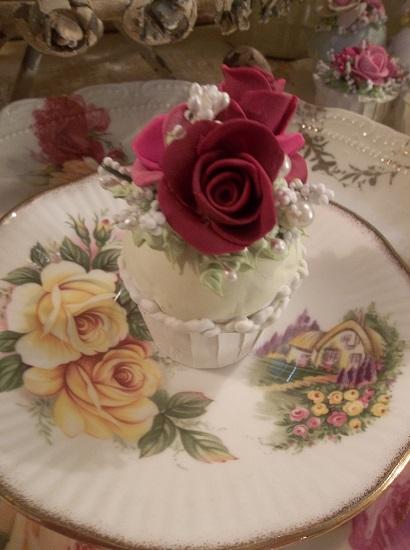(Raspberry Rose And French Vanilla Cream) Mini Marvel