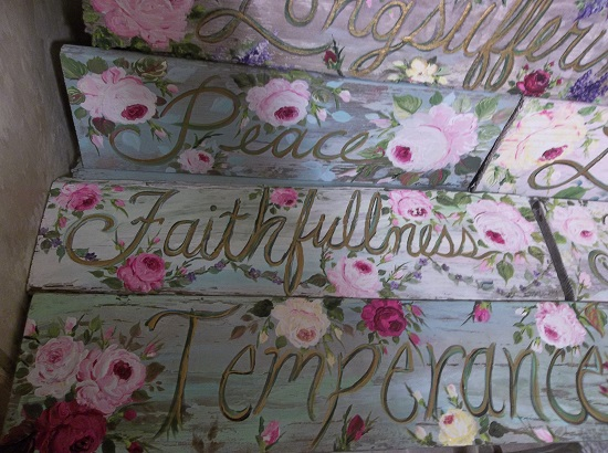 (Temperance) Handpainted Sign