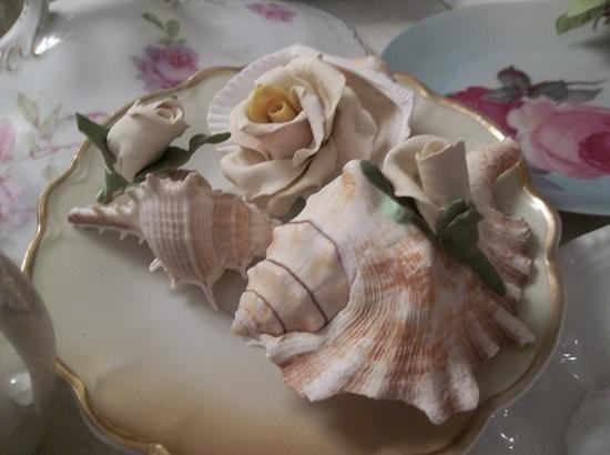 (Ariella) Set Of 3 Mini Marvel Seashells