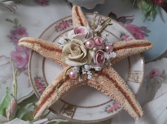 (Starletta) Decorated Starfish
