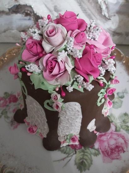 (Jenny Grace) Funky Junk Fake Cake