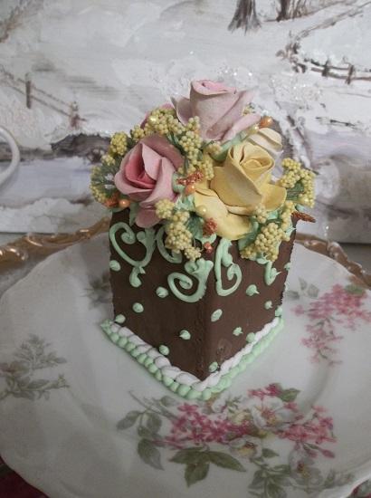 (Autumn Mint) Fake Cake Slice