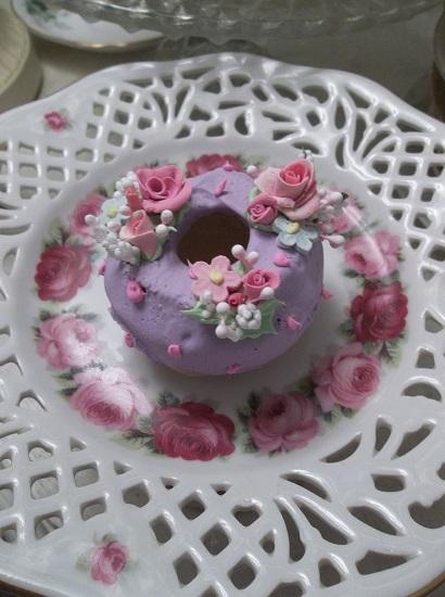 (Jill) Decorated Mini Donut