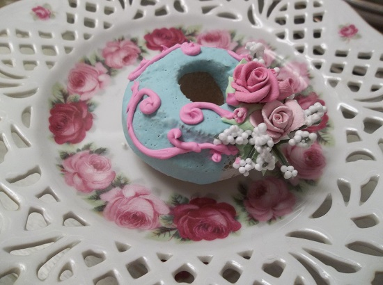 (Francine) Decorated Mini Donut