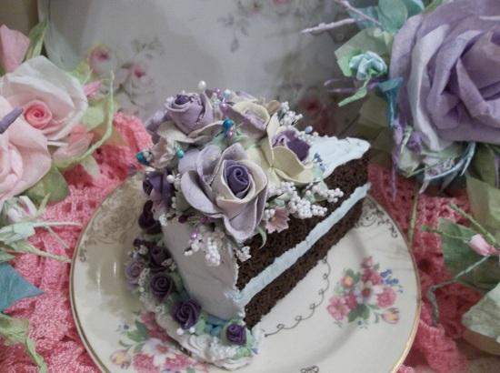 (Sister Violet Sky) Funky Junk Fake Cake