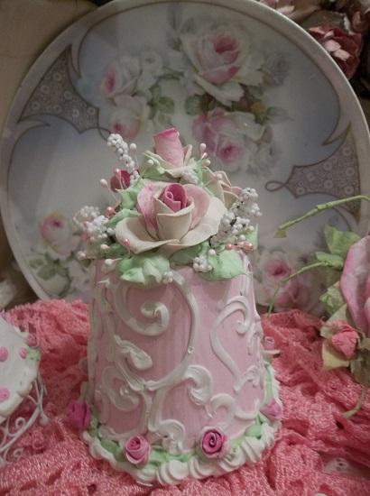 (Rose Reborn) Funky Junk Fake Cake