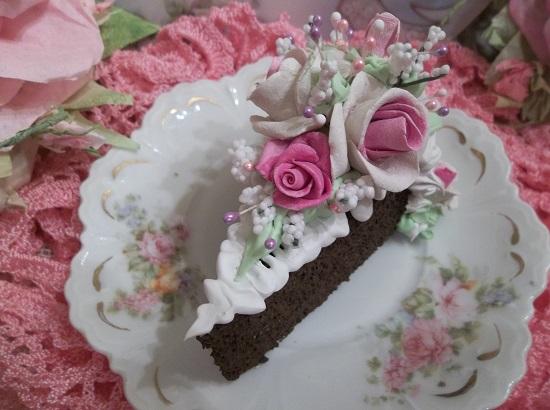 (Renette) Fake Cake Slice