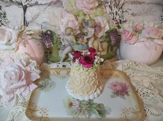 (Lauren) Funky Junk Fake Cake