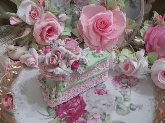 (Diana Dear) Fake Cake Slice