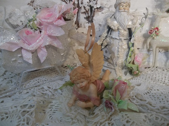 (Lacy The Angel) Decorated Angel Ornament