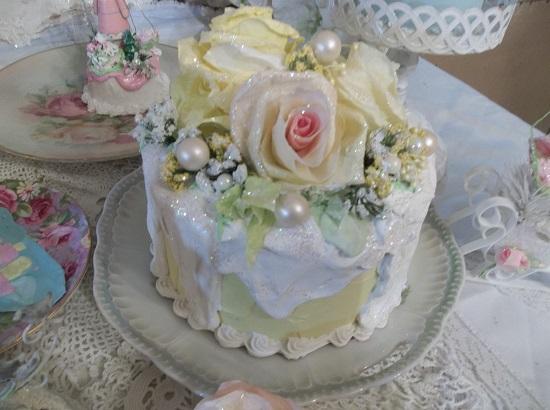 (Frosty Lemon Christmas Cake) Fake Cake