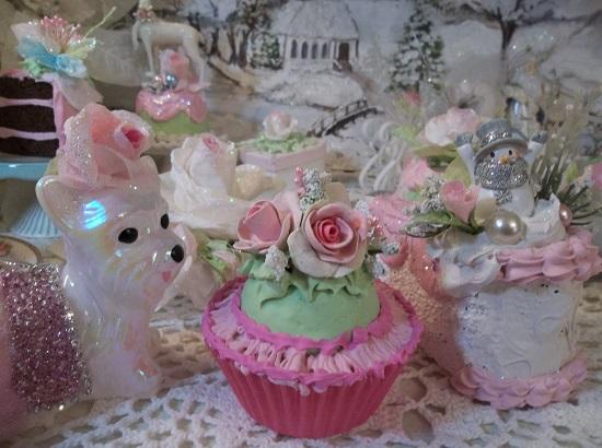 (Frannie) Fake Cupcake