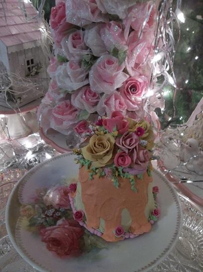 (Sunset Sally) Funky Junk Fake Cake