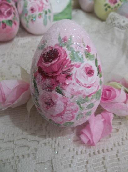 (Abigayle) Handpainted Fake Egg