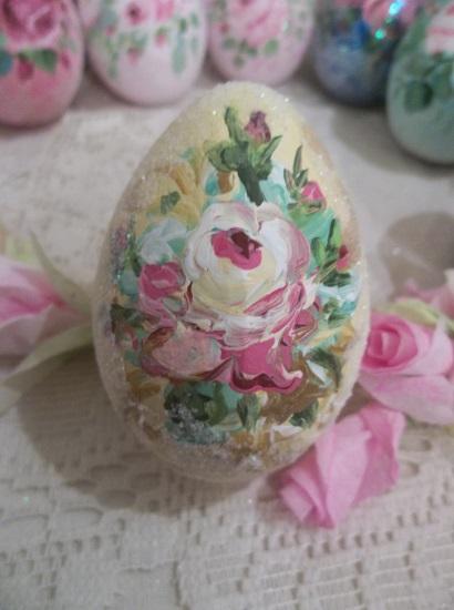 (Rhonda's World) Handpainted Fake Egg