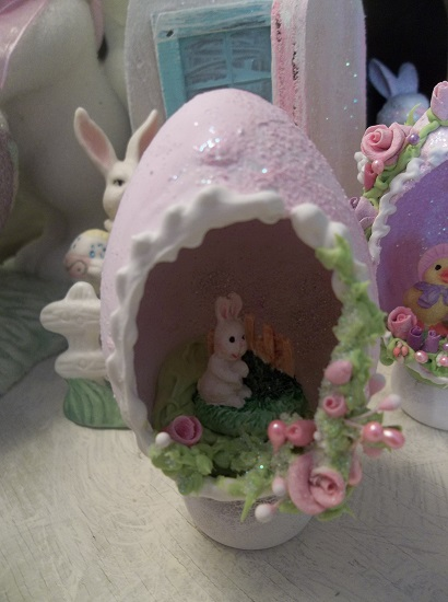 (Olivia) Decorated Panoramic Easter Egg