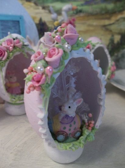 (Joy Rider) Decorated Panoramic Easter Egg