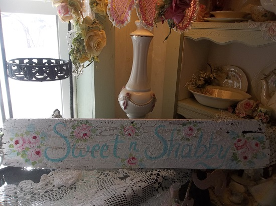(Sweet N Shabby) Handpainted Sign