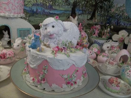 (Lambie Pie) Funky Junk Fake Cake