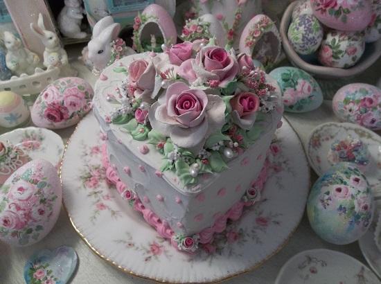 (Rhonda's Love) Funky Junk Fake Cake