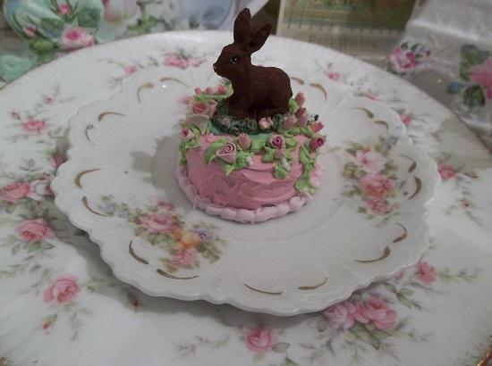 (Chocolate Baby Bunny Cake) Mini Marvel