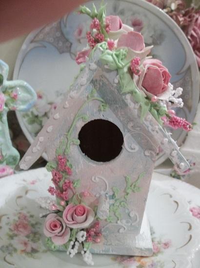 (Mistie) Decorated Birdhouse
