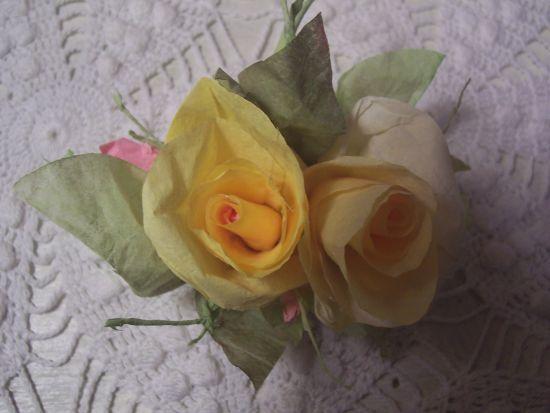 (Sook) Rose Clip