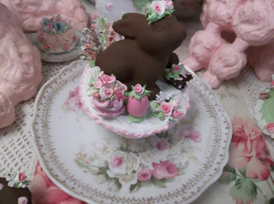 (Little Bunny Froufrou) Fake Cupcake