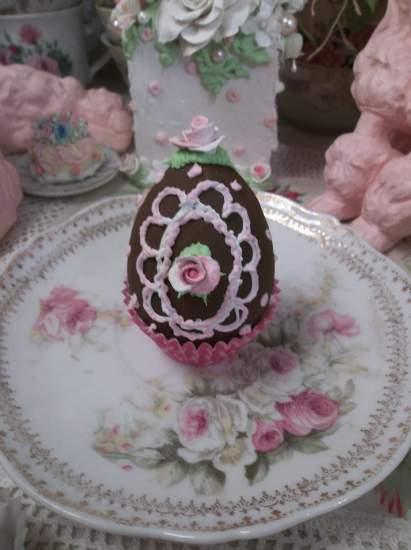 (Easter Joy) Fake Chocolate Egg