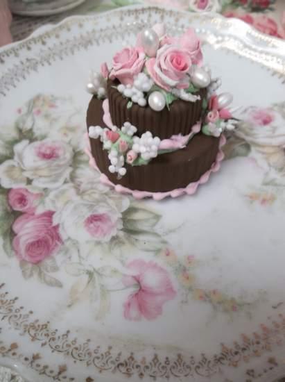 (Chocolate Celebration) Mini Marvel 2 Tiered Cake