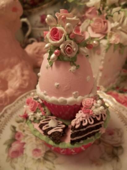 (The Treated Egg) Fake Cupcake