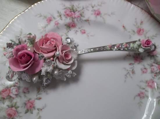 (Betty) Vintage Teaspoon Decoration