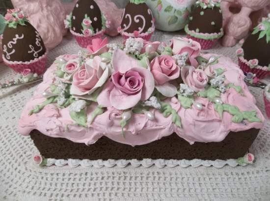 (Chocolate Bar Cake) Fake Bar Cake