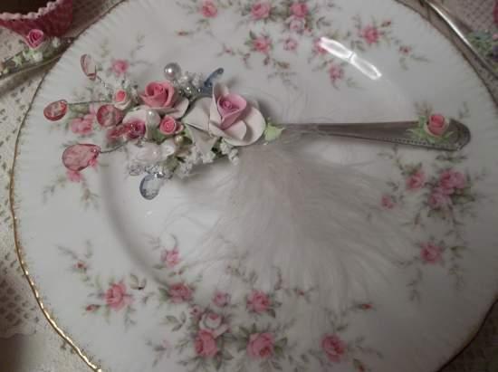 (Angel) Vintage Teaspoon Decoration
