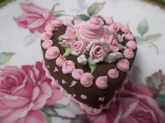 (Love With A Dollop Of Cream) Mini Marvel Small Cake