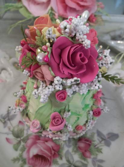 (Peace Out Rose Momma) Fake Cake