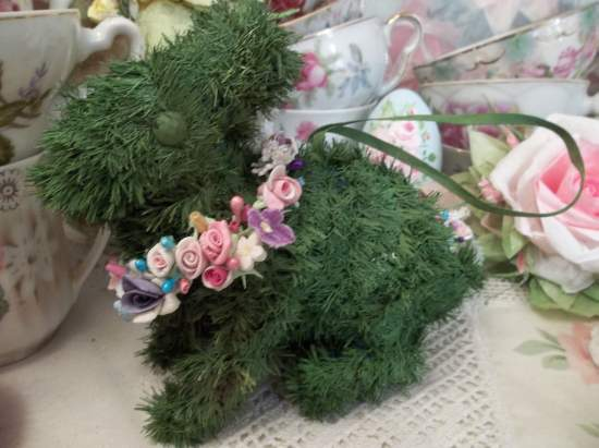 (Garlands Of Easter) Easter Ornament Woodland Decor