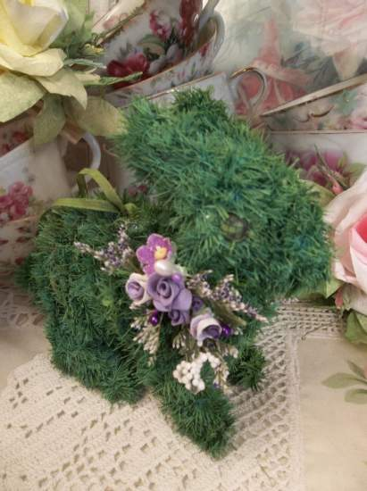 (Lavender Elaine) Easter Ornament Woodland Decor