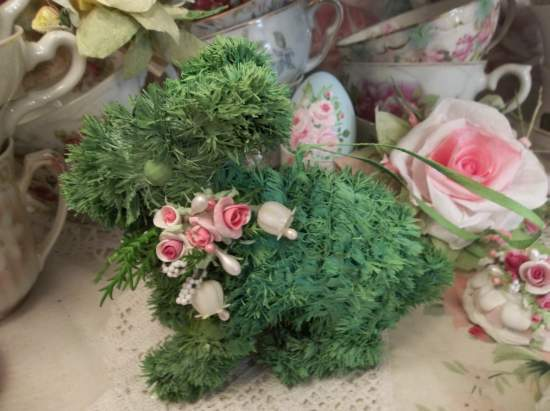 (Lillie Rose Hopper) Easter Ornament Woodland Decor