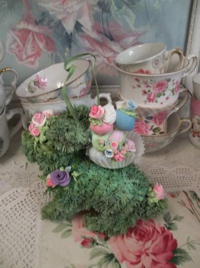 (Burdened With A Heavy Load) Easter Ornament Woodland Decor