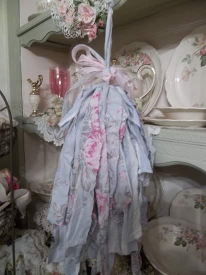 (Ashley Rosa Tassel) Shabby Fabric Tassels, ,Shabby Chic, Boho