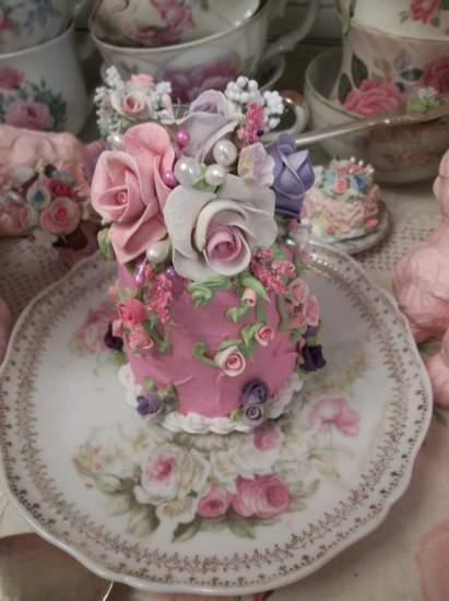 (Bell Anne) Funky Junk Fake Cake