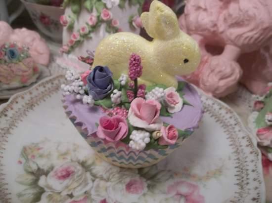 (Lemon Bunny) Fake Cupcake