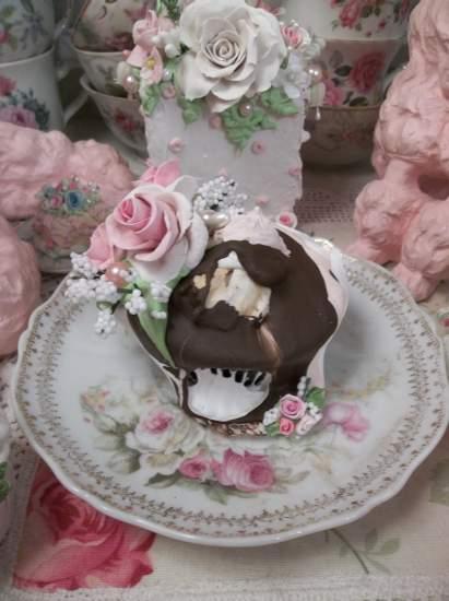 (Dulce de leche) Fake Cupcake