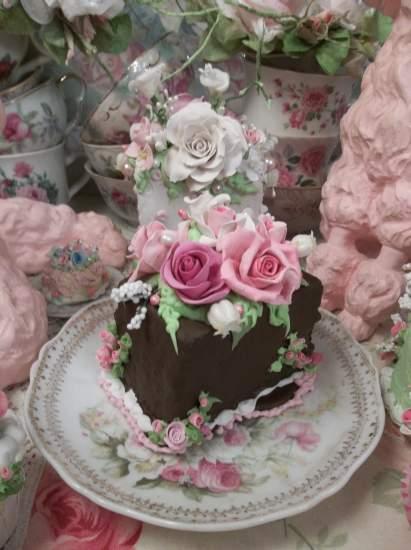 (Granache Cake) Fake Cake Slice