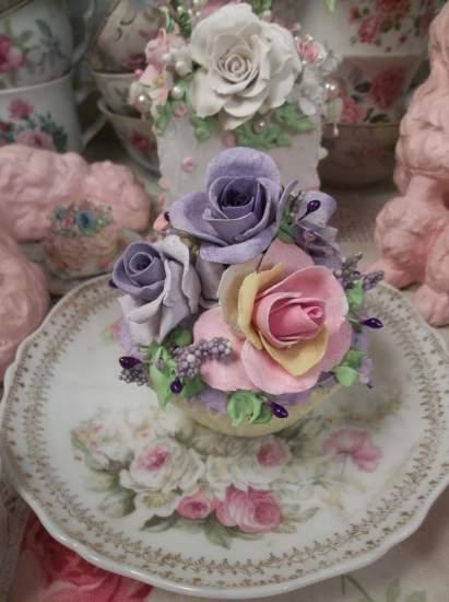 (Lovely Lilac) Fake Cupcake