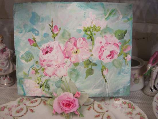 (Paper Darcie) Handmade Paper Rose Clip