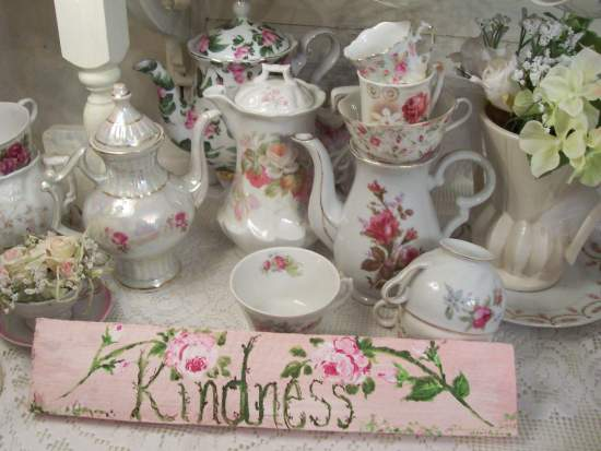 (Kindness Of Roses) Handpainted Sign