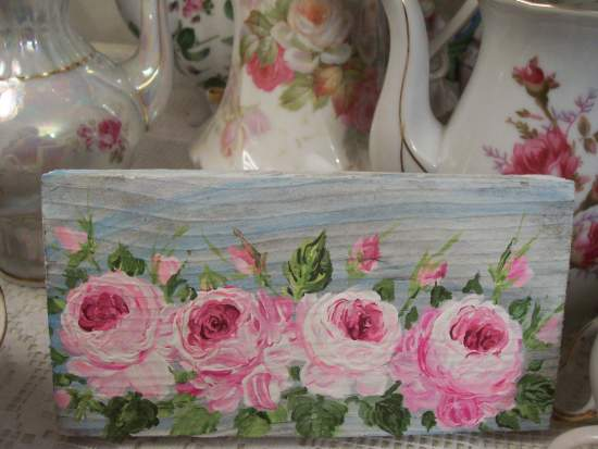(Pink Rose Row)