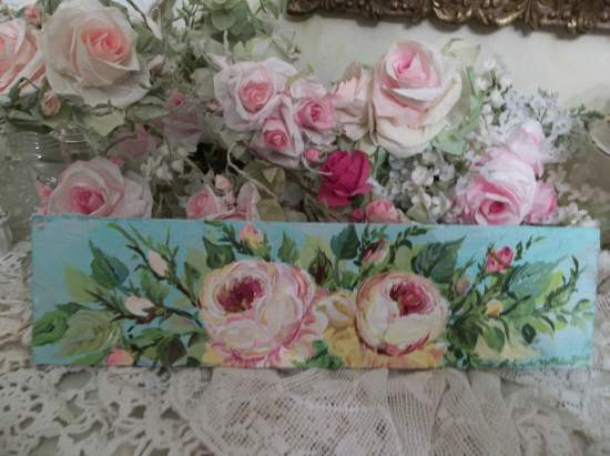 (Pretty Darla Rose) Handpainted Sign